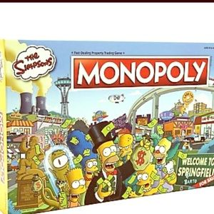 Simpson Monopoly Game Edition